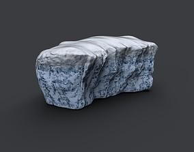 Iceberg 3D model game-ready PBR