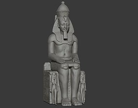 King Ramses II 3d print model