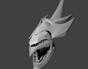 3D Slifer Sky Dragon Head