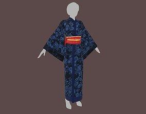 Kimono model game-ready
