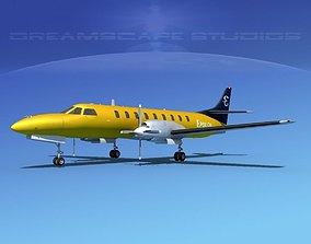 3D model Swearingen SA226 Metroliner Epsilon Air