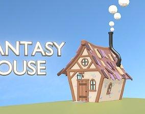 Fantasy House - Home of Little Dwarfs 3D