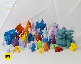 3D printable model 30 Lowpoly Pokemon