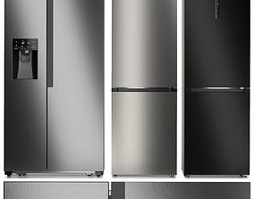 Refrigerator set Gorenje 3D model