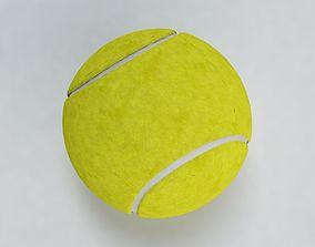 Yellow Tennis Ball 3D model