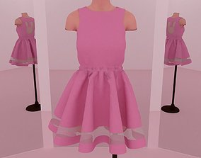 3D model Bunny Dress