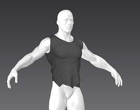 Clothes for Marvelous Designer Vest Muscular01 for Man 3D