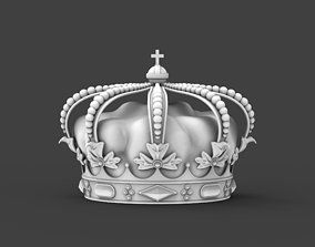 Crown king 3D printable model