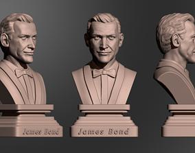 Sean Connery James Bond 3D printable model