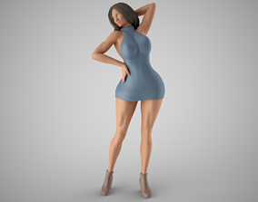 Woman Home Mood 9 3D printable model