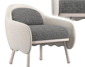 3D model billiani Corolla chair 271