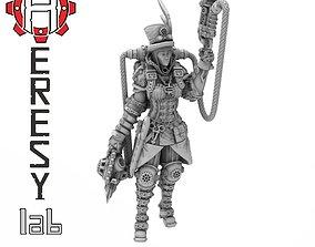 Heresylab - Steam Punk Dr Pam 3D printable model