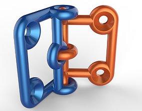 Door hinge 3D print model