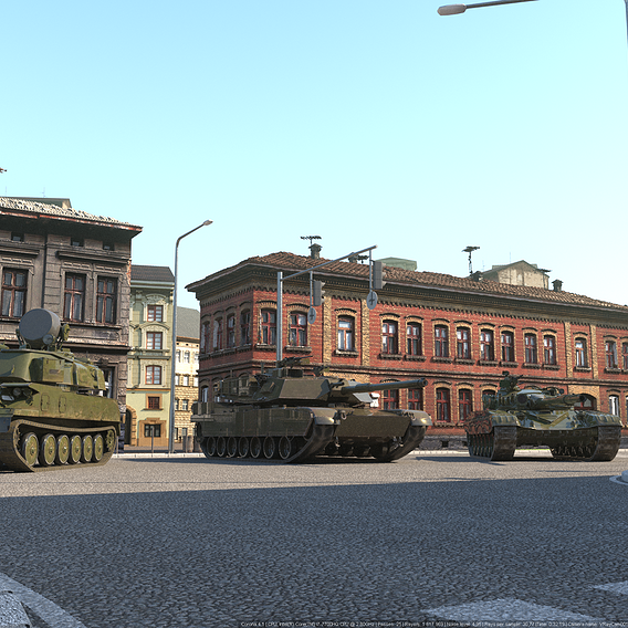 CC Firefight 1985_Tank