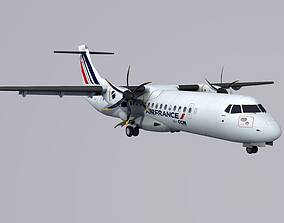 ATR 72 CCM Airlines Air France 3D model