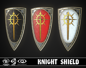 Knight Shield 07 3D model