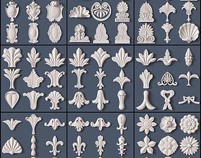 Architectural kit bash 3D model achantus