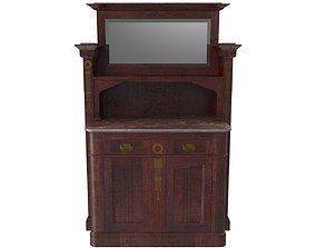 Cabinet Art Nouveau 3D