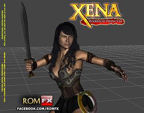 Xena Warrior Princess - Figure Printable
