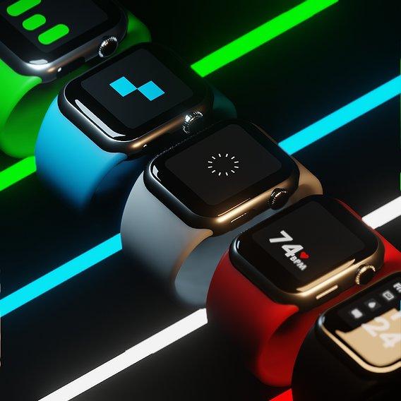 Apple Watch commercial-like showcase