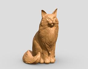 3D print model Cat Mainecoon 2