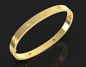 Cartier Love bracelet Craft 3D printable model