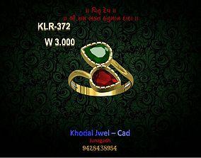 ladies ring jewel 3D model realtime