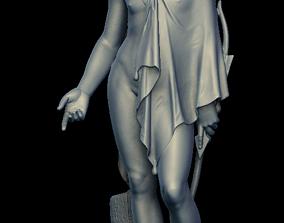 18th Century Statue 3D Child Model