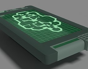 3D asset Among Us Props - Admin Room Table