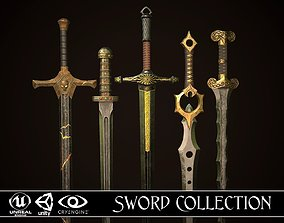 Sword Collection 3D model