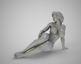 Girl in the Window 2 3D print model