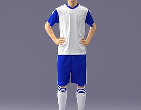 Soccer player 1114-8 3D Print Ready