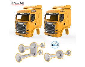Truck Horn 3D print model