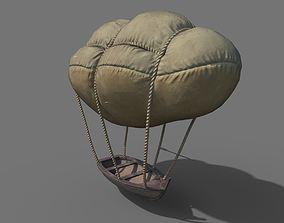 Flying Rowboat 3D asset