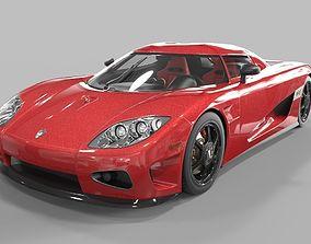 racing Koenigsegg CCX 3D