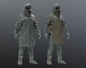 3D HAZMAT SUIT Chernobyl Liquidator