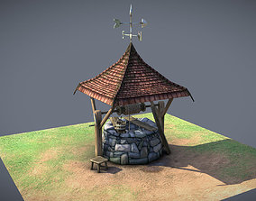 3D asset Stone Well