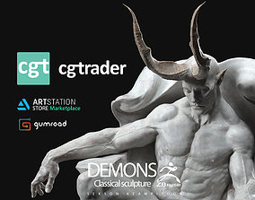 DEMONS - Classical sculpture 3D print model people