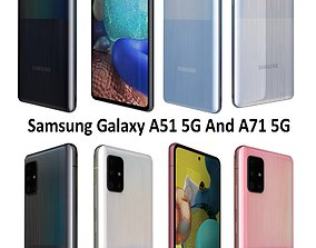 3D model Samsung Galaxy A51 5G And A71 5G