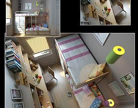 interior child 3D model