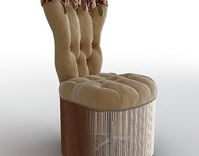 3D Office Elegant Armchair