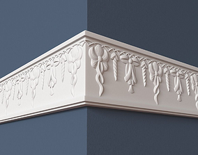 wall 3D model Frieze