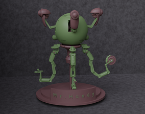 Fallout Robot Mr Handy 3D Print 3D model