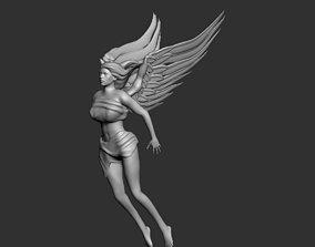 Flying Angel 3D print model