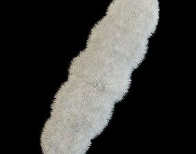 3D Carpet of sheepskin
