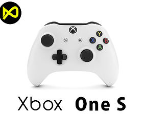 3D model Xbox One S Controller