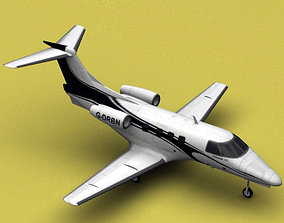 3D model Embraer Phenom 100