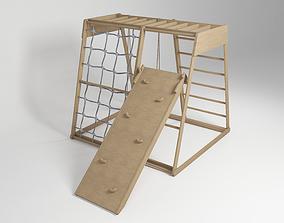 Children Indoor Climbing Swing Slide 3D model