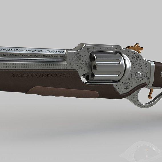 Remington Concept Art