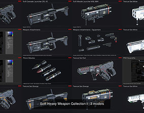 3D model Scifi Heavy Weapon Collection I